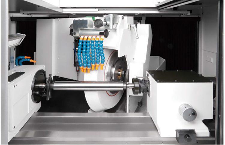 Photo of  clean CNC grinder.