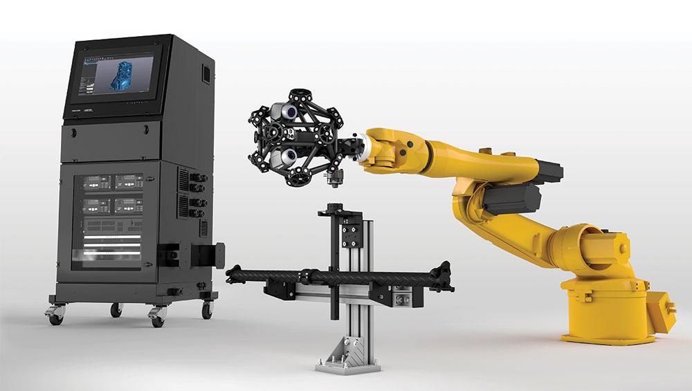 creaform s metrascan 3d r measurement device designed for shop floor