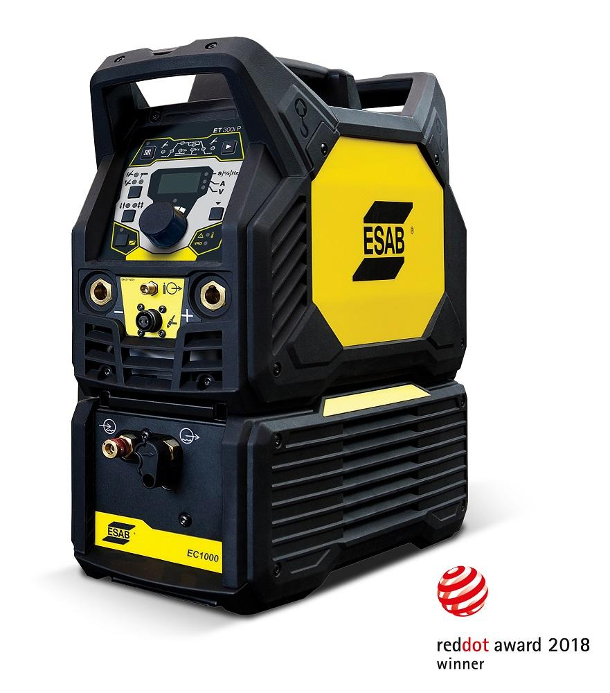esab gtaw smaw inverter receives red dot award for product design canadian metalworking. Black Bedroom Furniture Sets. Home Design Ideas