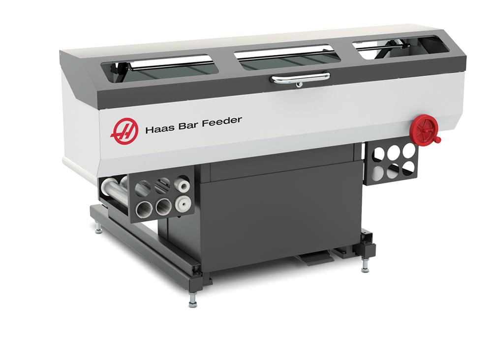 Haas Bar Feeder - Canadian Industrial Machinery