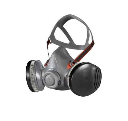 Half-mask Respirator Compatible With Safety Helmets, Eye
