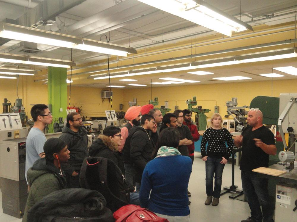 ontarios centennial college transforms students  skilled workers canadian metalworking
