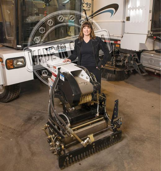 Heather Forbes, president of SuperiorRoads Solutions