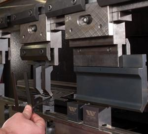 Press Brake Tooling Strategies