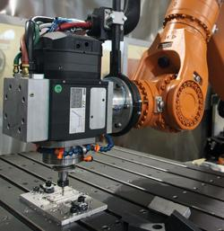 Robots Integrated With Mills Good For Production And Job