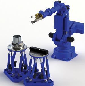 Stewart Platform robots