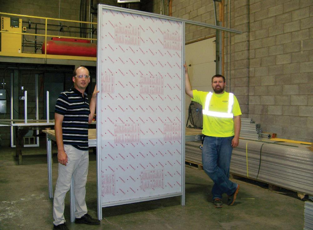 Universal Fabricating S Waterjet Cuts Out Outsourcing
