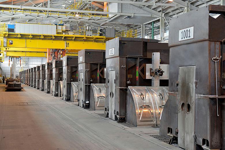 A view of the Arvida Aluminium Smelter in Quebec. (Photo: Rio Tinto)