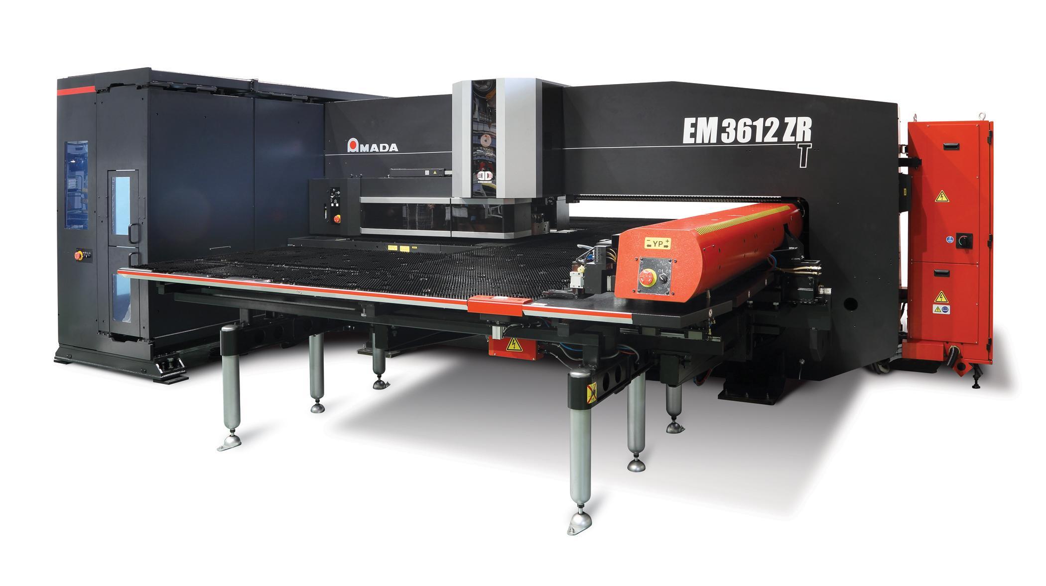 Amada S New Em 3612 Zrt Canadian Metalworking