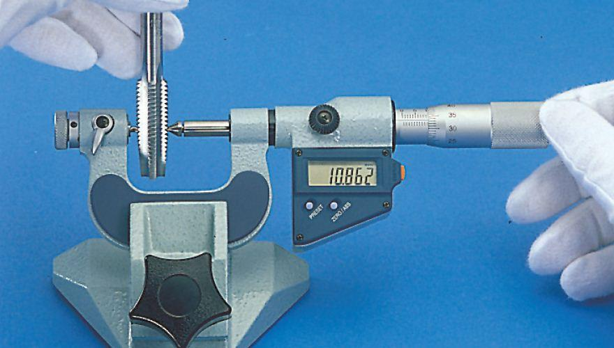 Thread Measuring Tool : Thread connection canadian metalworking